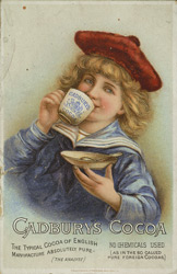 Advert for Cadbury's Cocoa